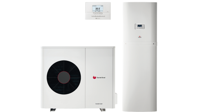 Pompa di calore aria/acqua Genia Air Split