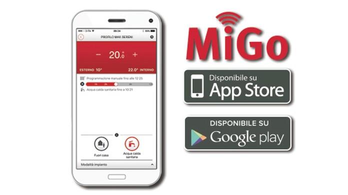 app termostato MiGo